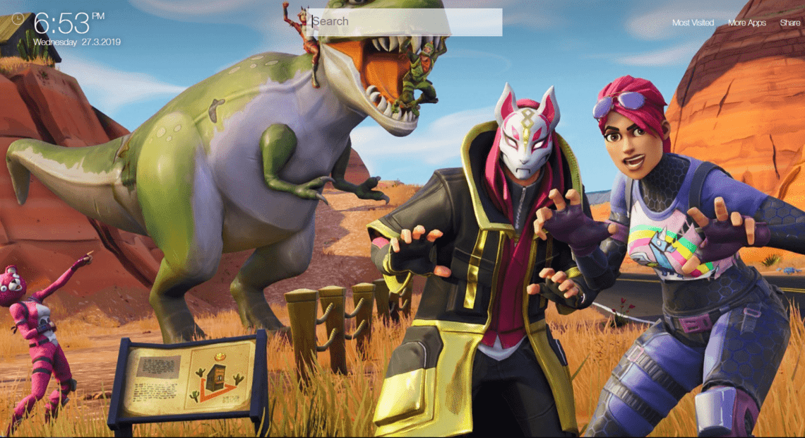 Fortnite Background Wallpapers Hd New Tab Theme Chrome Extensions Qtab