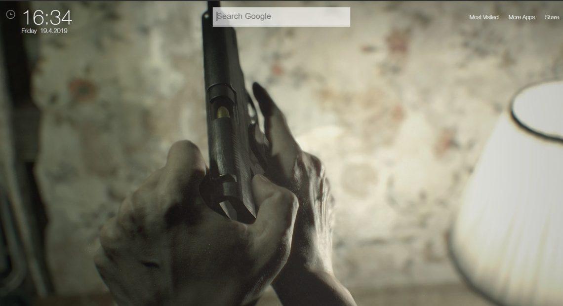 Resident Evil 7 Biohazard Wallpapers Hd New Tab Theme Chrome