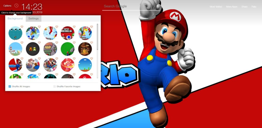 Super Mario Bros Game Wallpapers Hd New Tab Theme Chrome