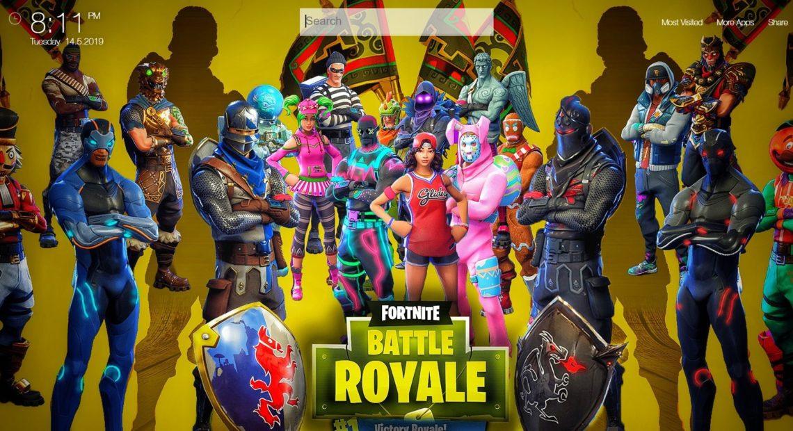 Fortnite Battle Royale Wallpapers Hd New Tab Theme Chrome Extensions Qtab