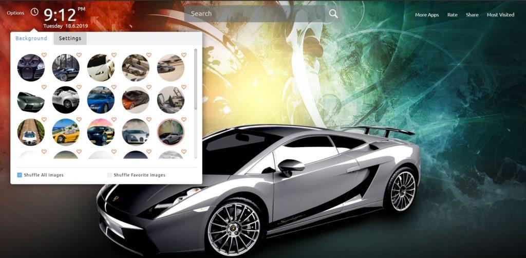 Bugatti vs Lamborghini Wallpapers HD New Tab Theme - chrome