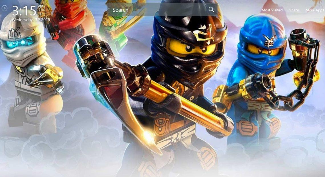 Lego Ninjago Movie Chrome Extensions for New Tab ...